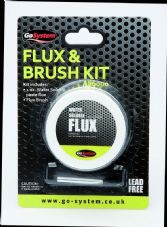GoSystem Lead Free Water Soluble Fix & Brush
